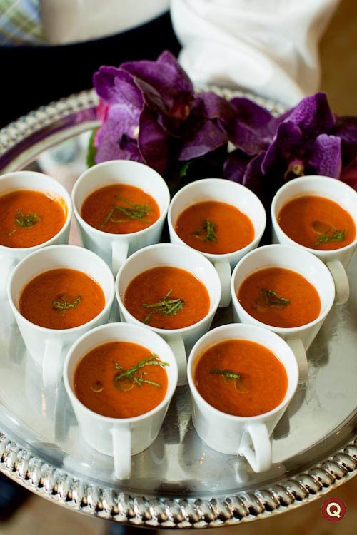 Qweddings Tomato Bisque