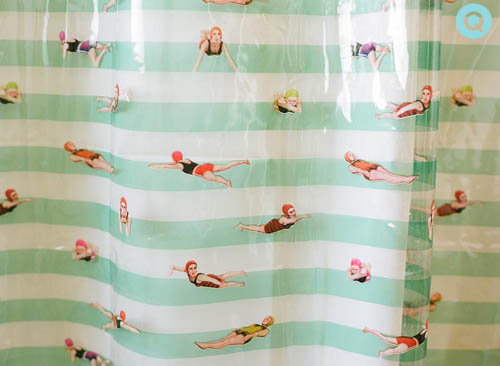 Swimming Shower Curtain | Q Blog | Wedding Photographer ...