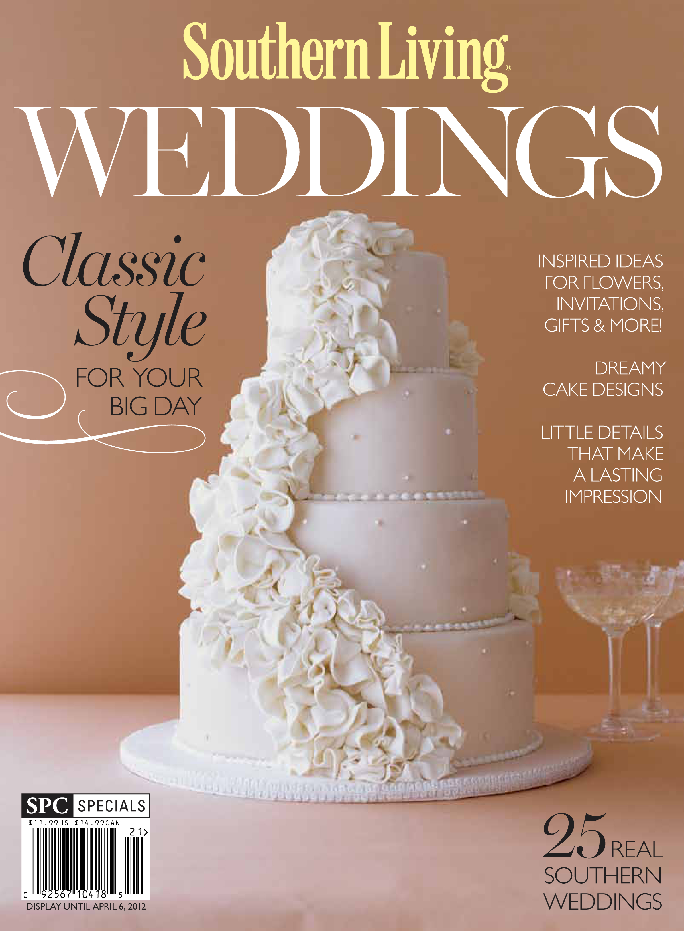 southern living 39 s annual wedding issue focuses on southern