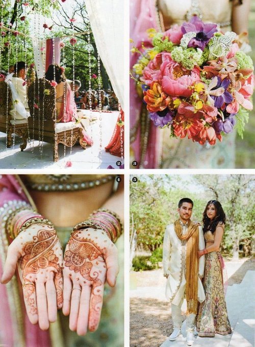 2012 Southern Living Weddings 3 tm Southern Living Weddings feature of a Hindu Fusion wedding