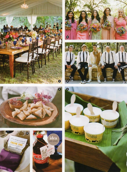 2012 Southern Living Weddings 4 tm Southern Living Weddings feature of a Hindu Fusion wedding