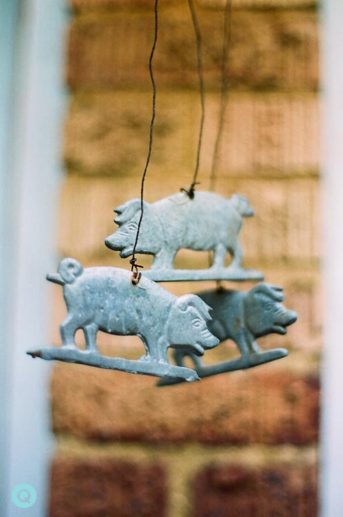 Pig-Wind-Chimes