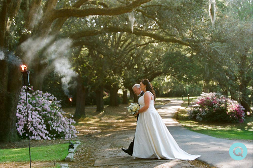 Legare Waring House processional Southern Weddings is featuring a Charleston wedding