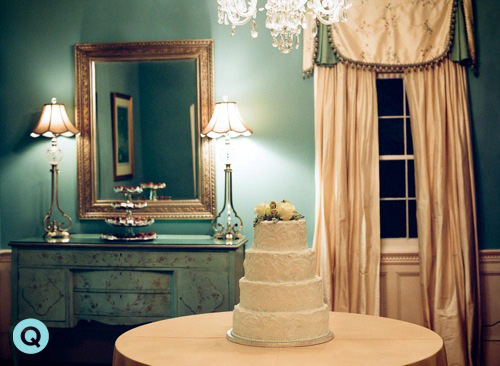 Legare Waring wedding cake Southern Weddings is featuring a Charleston wedding