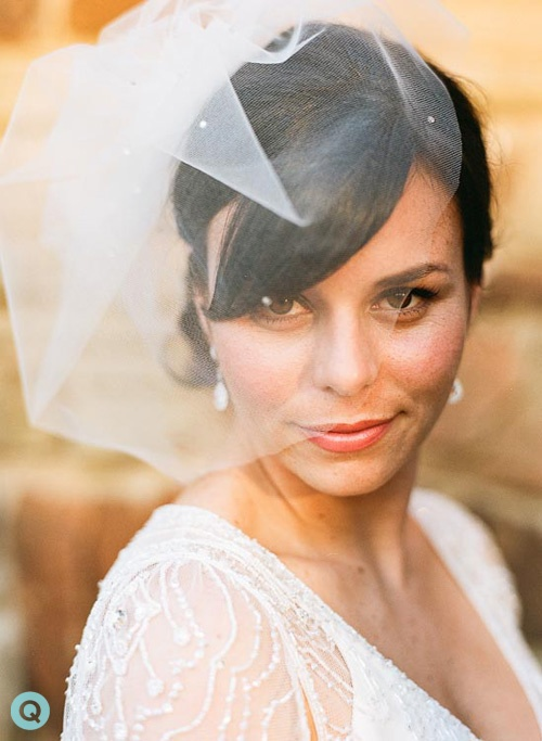 birdcage veil austin texas tm Ladybird Johnson Wildflower Center wedding photography