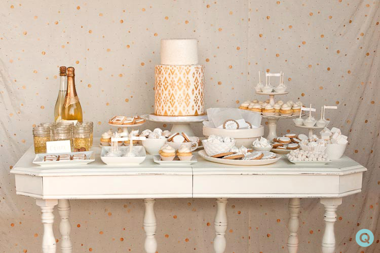austin texas winter theme dessert bar photography q blog. Black Bedroom Furniture Sets. Home Design Ideas