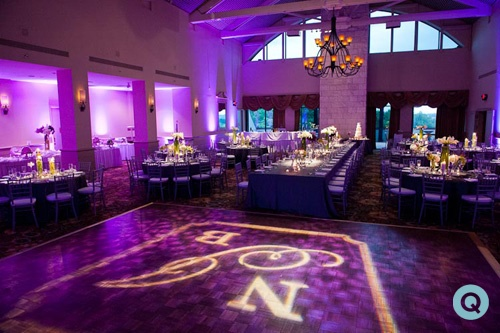barton creek country club tm purple wedding