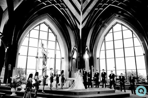 catholic church austin texas tm purple wedding