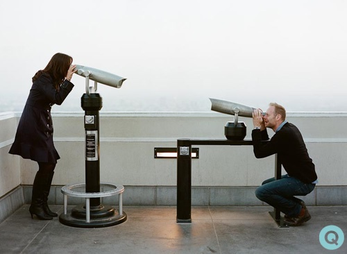 griffith park observatory tm Los Angeles engagement photographer