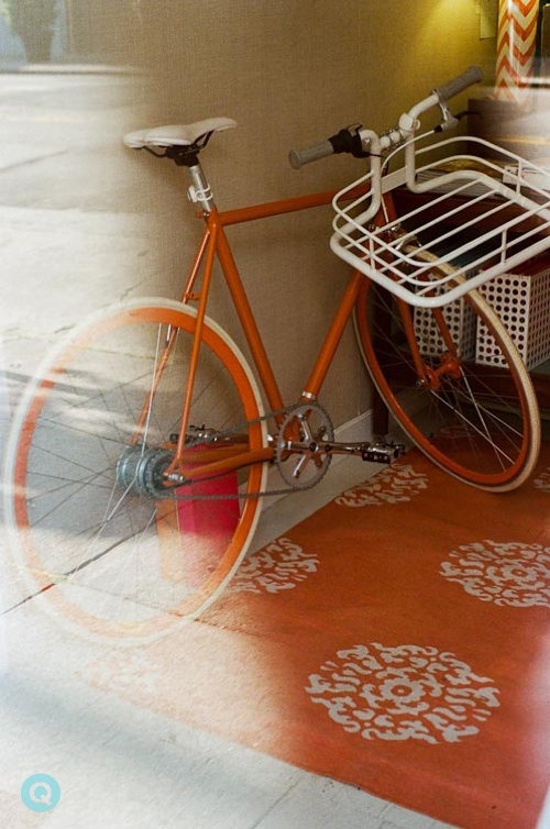 Orange-Bicycle