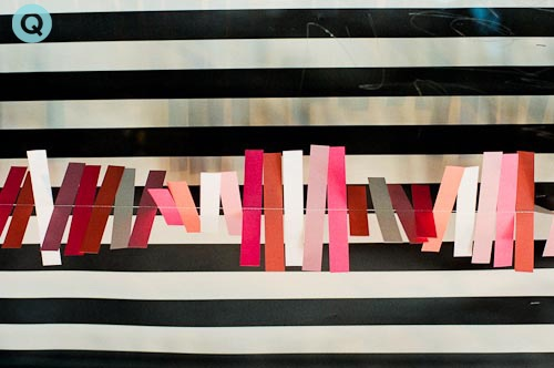 Pink-Red-White-Stripes