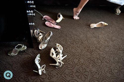 Houston Hotel Zaza tm white and gold wedding on Offbeat Bride