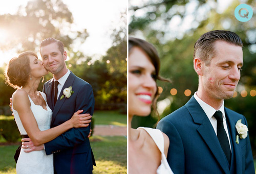 QWeddings Laguna Gloria Texas Laguna Gloria wedding on Style Me Pretty