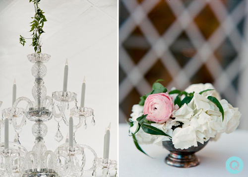 QWeddings Laguna Gloria chandelier Laguna Gloria wedding on Style Me Pretty
