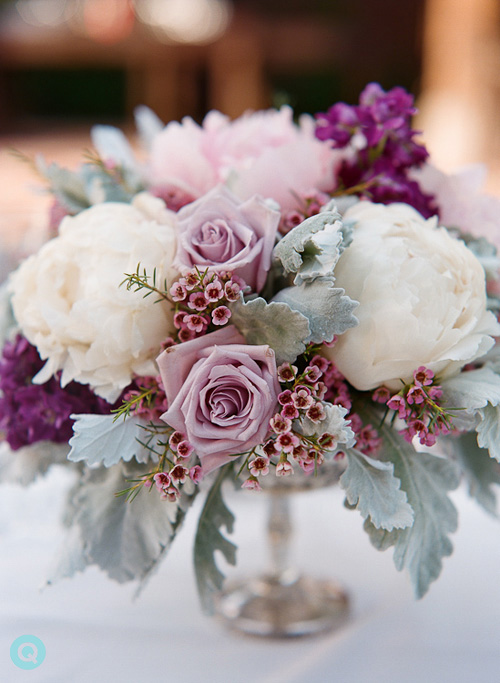 Floral Theory California QWeddings Lavender and blue dilly dilly