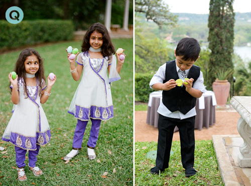 QWeddings Indian fusion wedding 23 Modern Indian wedding and Easter Egg hunt