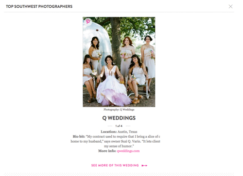 Screen Shot 2014 07 09 at 10.51.55 AM Q Weddings is one of Martha Stewart Weddings 2014 Top Wedding Photographers!