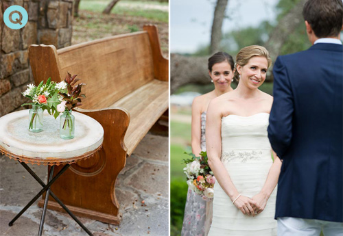 Hill Country Texas wedding ceremony