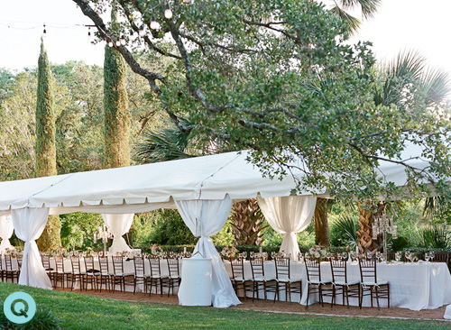 Laguna Gloria Tented Reception